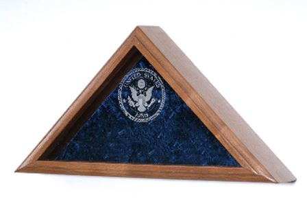 Custom Made Flag - Wall Mounted Box - Fit Burial Flag Case
