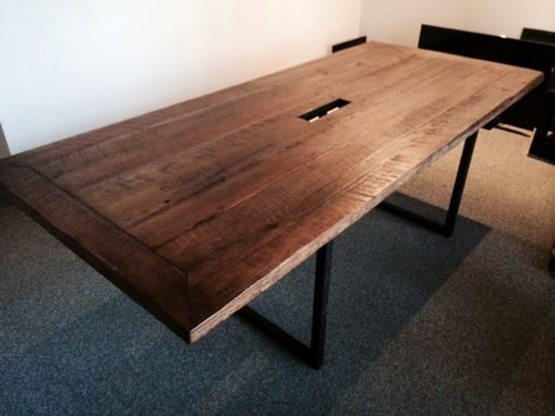 Custom Made Hand Crafted Plank Table