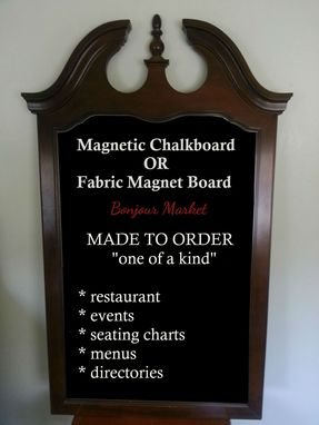 Custom Made Wall Hanging Sign Board - Cafe, Restaurant - Extra Large 48x28