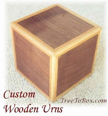 Custom Made Keepsake Urns
