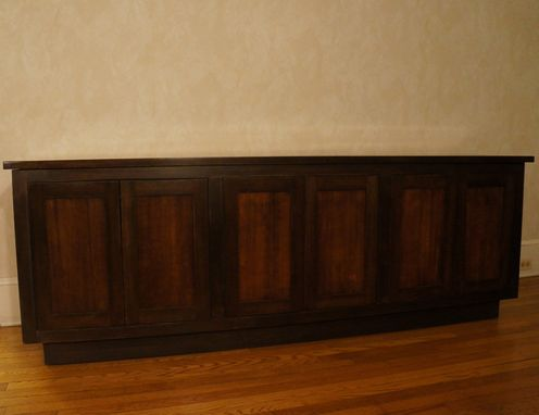 Custom Made Reclaimed Wood Media Console