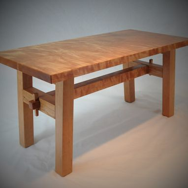 Custom Made Stunning Figured Cherry Coffee Table