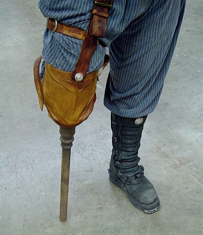 Hand Made Peg Leg Costume By Sc Studios Llc Custommadecom