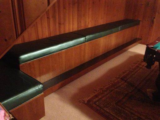 Custom Made Built In Bench Seating