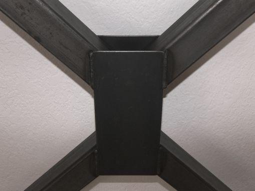 Handmade Metal Table Legs Industrial Heavy Duty Steel