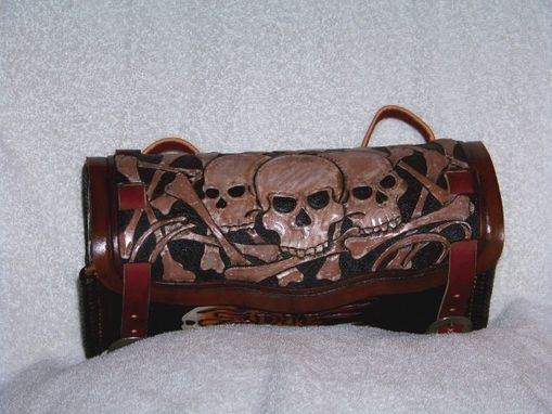 Custom Made Custom Hand Made Motorcycle Tool Bag