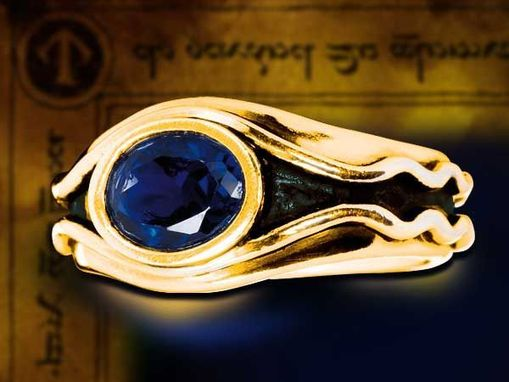 Custom Made Vilya Ring From Lord Of The Rings