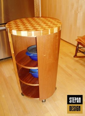 Custom Made Modern Satellite Kitchen Island