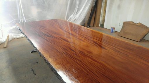 Custom Made Sipo Mahogany Dining Table