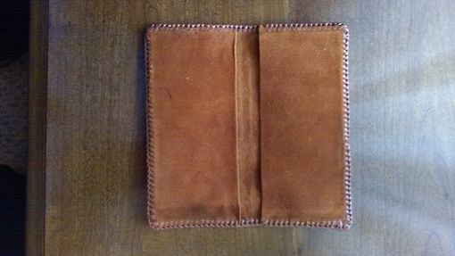 Custom Made Check Book Cover