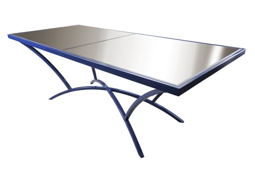 Custom Made Solar Panel Table