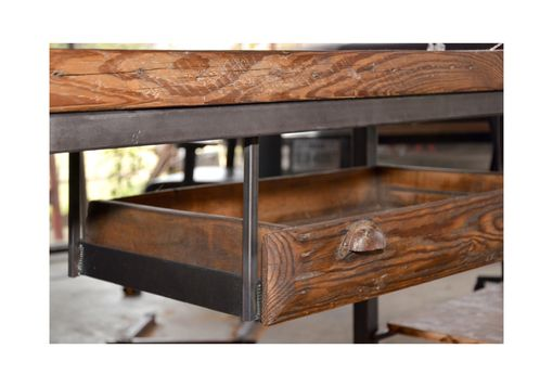 Custom Made Industrial Work Desk