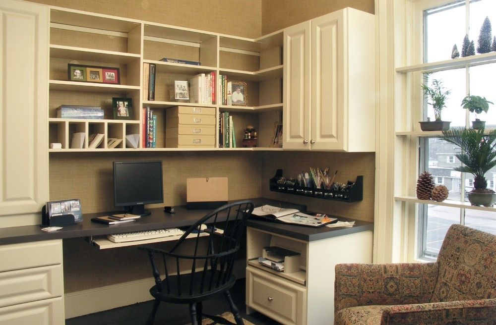 Organized Home Office With Well Organized Home Office Custom By Creative Storage Custommadecom