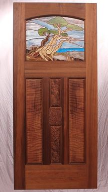 Custom Made The Carmel-By-The-Sea Cottage Door