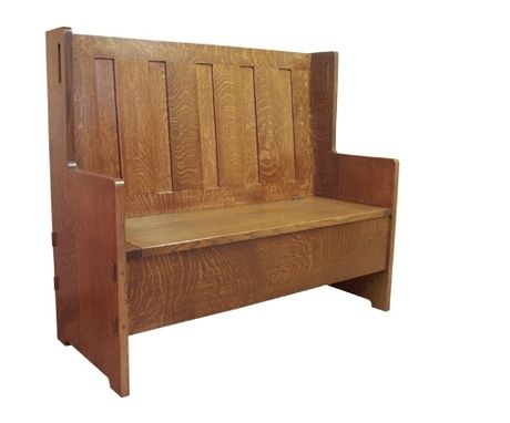 Custom Made G Stickley Hall Seat
