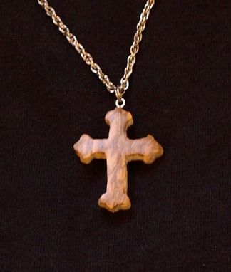 Custom Made Mammoth Ivory Cross Necklace