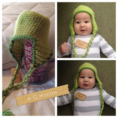 Custom Made Ear Flap Crochet Hat