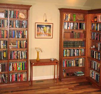 Custom Made Custom Cherry Library