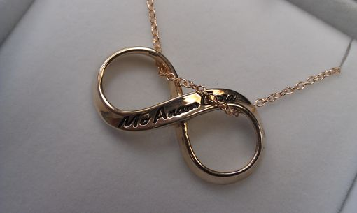 Custom Made Infinity Necklace