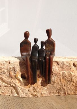 Custom Made Custom Figurative Bronze Sculpture,
