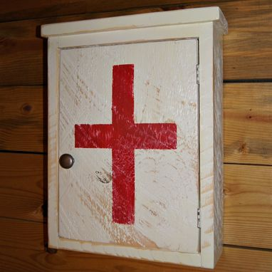 Custom Made First Aid Storage Medicine Cabinet