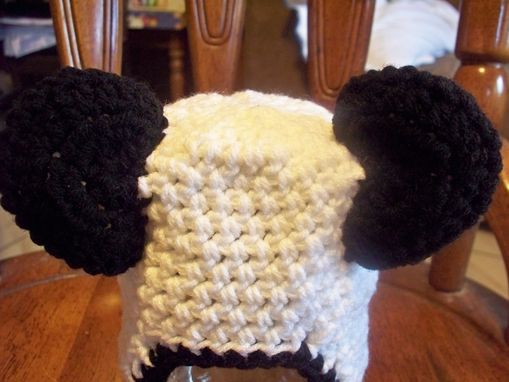 Custom Made Baby Panda Crochet Hat