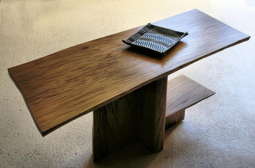 Custom Made Sycamore Coffee Table