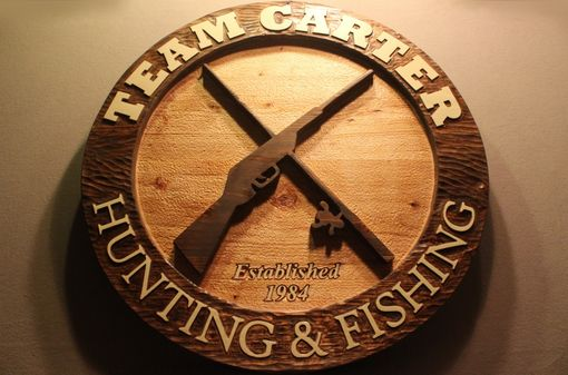 Custom Made Custom Carved Wood Signs | Hand Carved Wood Signs | Home Signs | Cabin Signs