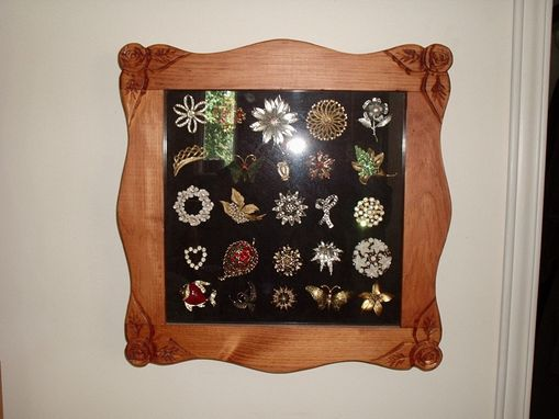 Custom Made Pin Box, Jewelry Box, Shadow Box