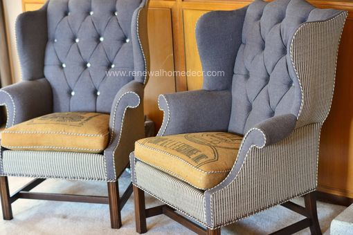 Custom Made Custom Wingback Chairs