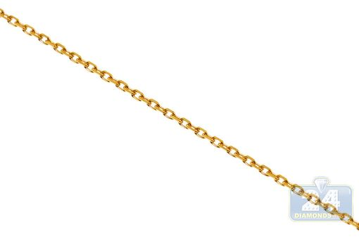 Custom Made 18k Yellow Gold Diamond Id Name Engravable Bar Womens Necklace 18 Inches