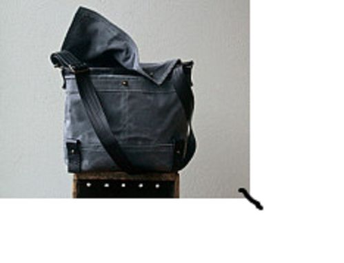 Custom Made Field Messenger Bag, Tote
