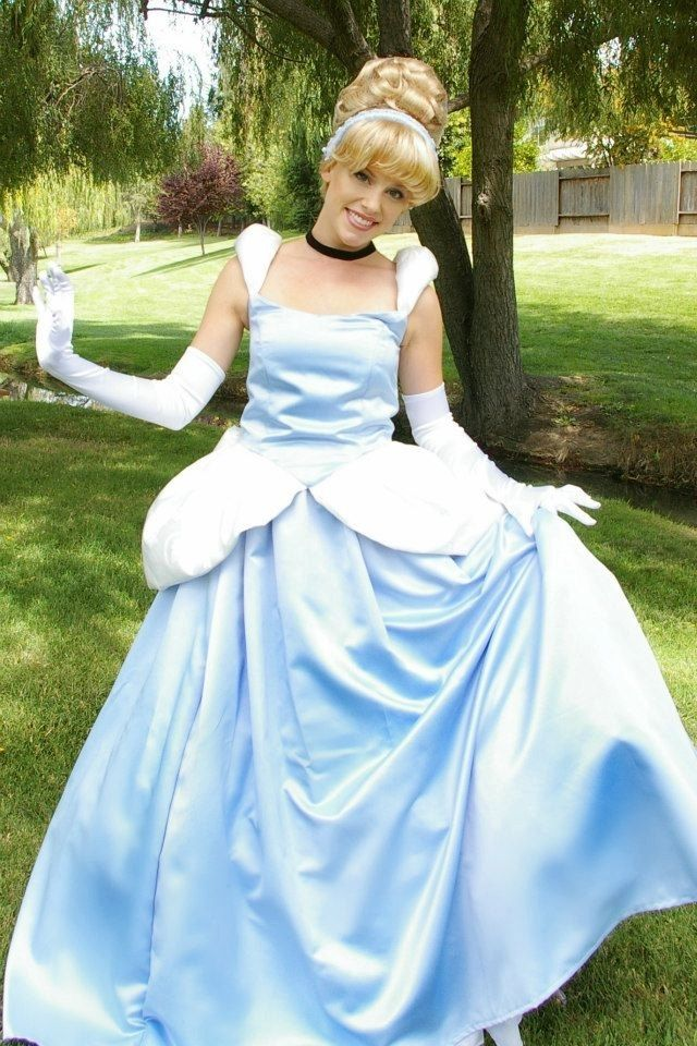 Hand Crafted Cinderella Gown Adult Costume Version J By