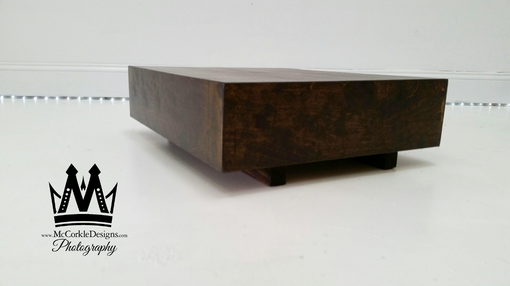 Custom Made Coffee Table Small Wooden - Modloft - Modern Tables Home Decor
