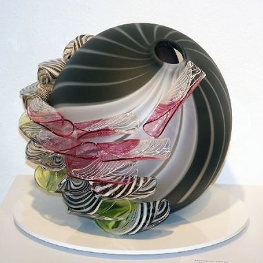 Custom Made Rapture Series, Blown Glass Vessel Forms