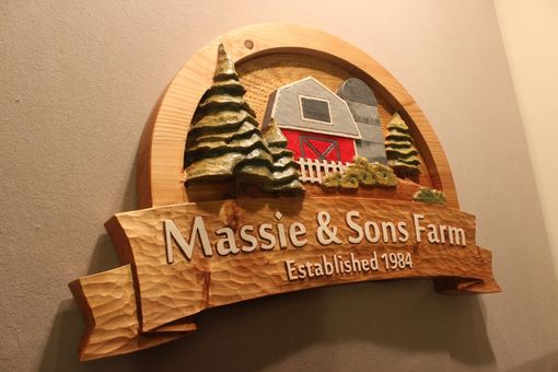 Custom Made Farm Signs | Custom Farm Signs | Carved Farm Signs | Home Signs | Carved Wooden Signs | Farmer Signs
