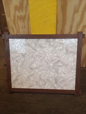 Custom Made Topographic Wall Art