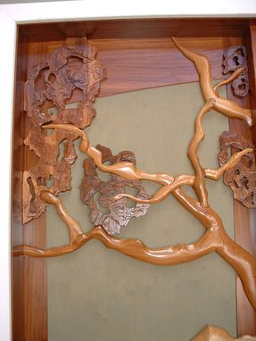 Custom Made Oak Tree Door