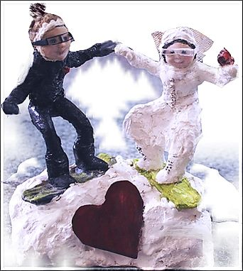 Custom Made Wedding Cake Toppers ~Custom Art~ Personalized Cake-Tops
