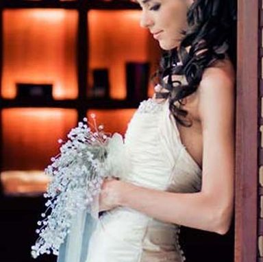 Custom Made Beaded Crystal Wedding Bouquets
