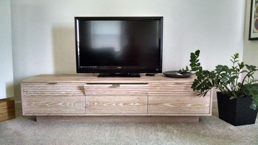 Custom Made Custom Tv Stand And Storage