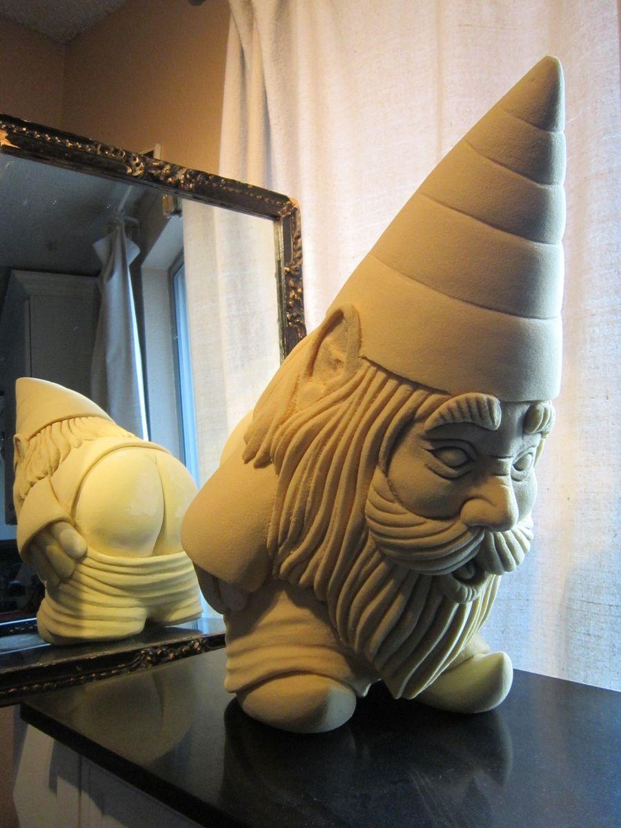 Handmade Custom Garden Gnome by Ben's Artworks Llc | CustomMade.com