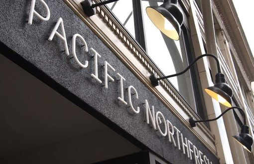 Custom Made Pacific Northfresh Sign