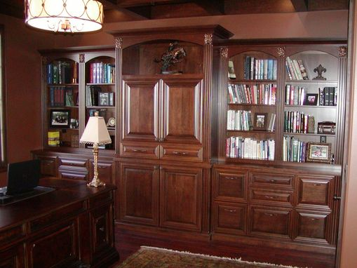 Custom Made Office Library / Entertainment Center