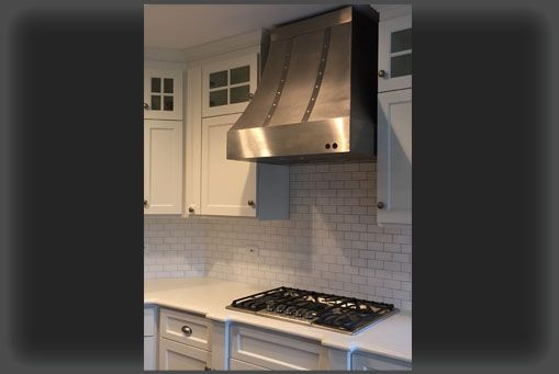 Custom Made The Cynthia Stainless Steel Range Hood