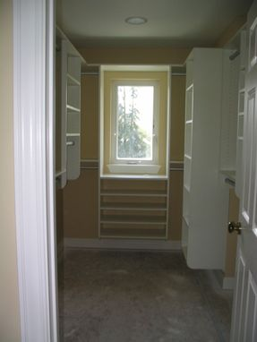 Custom Made Walk-In Closet