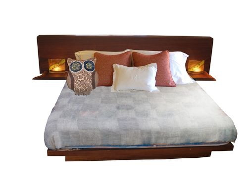 Custom Made Live-Edge Bed