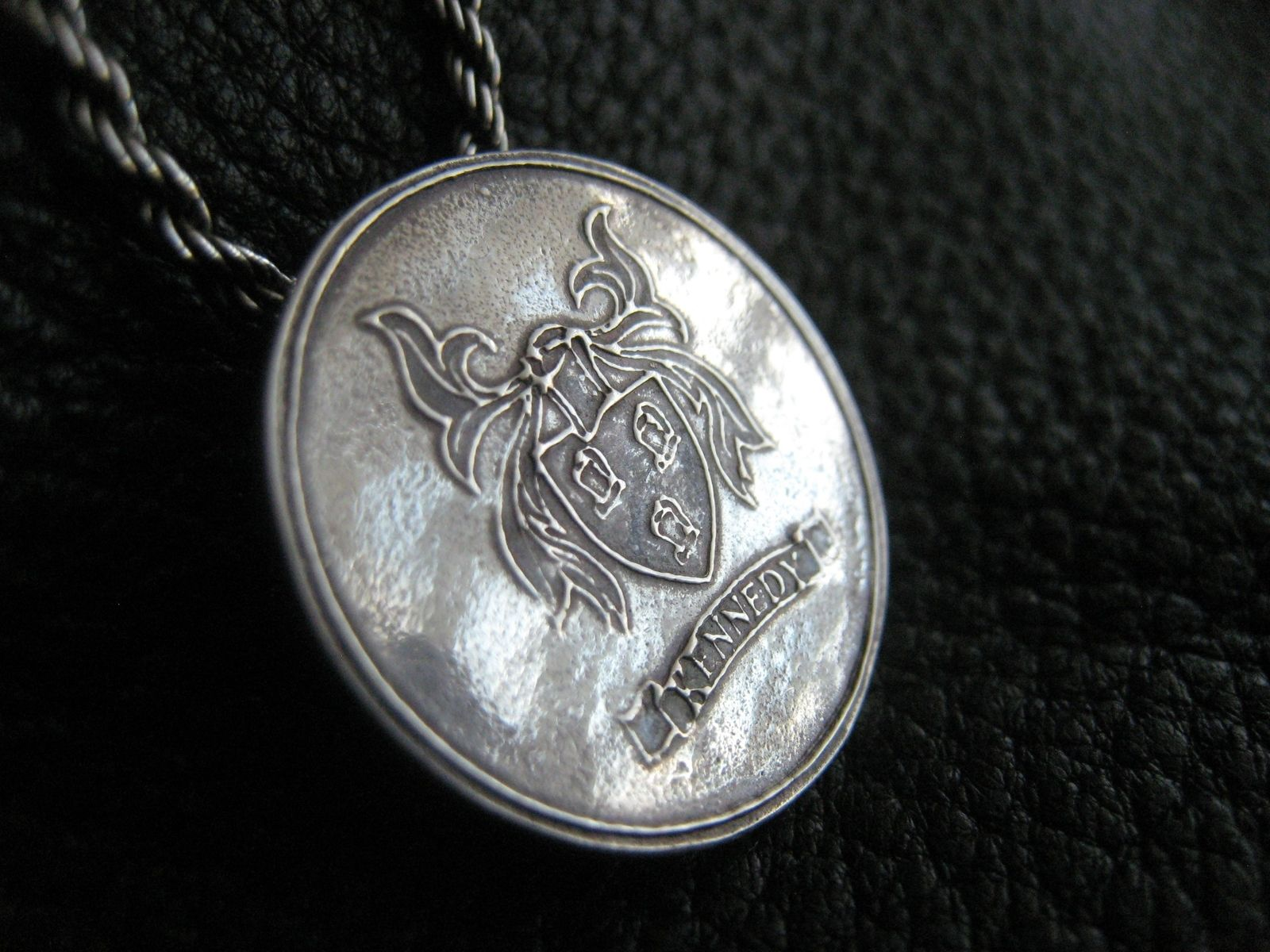 Hand Made Family Crest Coat Of Arms Heraldry Medallion