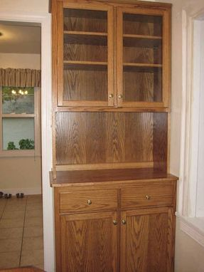 Custom Made China Cabinet And Buffet