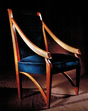 Custom Made Chair: Austrailian Lacewood